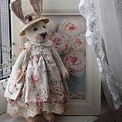 Куклы и игрушки handmade. Livemaster - original item Teddy Rabbit Ulyana.. Handmade.