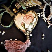 """Для дома и интерьера ручной работы. Ярмарка Мастеров - ручная работа """"Rose romance"""" Интерьерная подвеска. Handmade."""