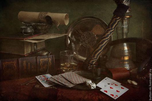 Фотокартины ручной работы. Ярмарка Мастеров - ручная работа. Купить Натюрморт Анте. Handmade. Коричневый, бумага, сувениры и подарки, холст
