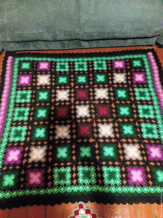 Текстиль, ковры ручной работы. Ярмарка Мастеров - ручная работа. Купить коврик в баварской технике. Handmade. Комбинированный