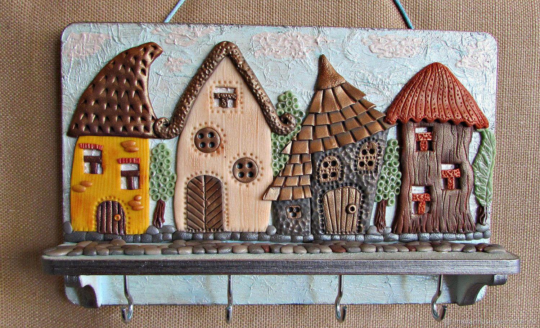 Housekeeper Sun City. decor polymer clay, Housekeeper, Shuya,  Фото №1