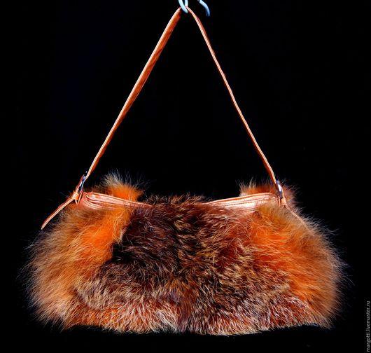 """Женские сумки ручной работы. Ярмарка Мастеров - ручная работа. Купить Сумка """"Лисичка"""". Handmade. Оранжевый, лиса, рыжая лиса"""