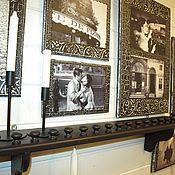 Полки ручной работы. Ярмарка Мастеров - ручная работа Венецианский балкончик под заказ (полка для коллекций). Handmade.