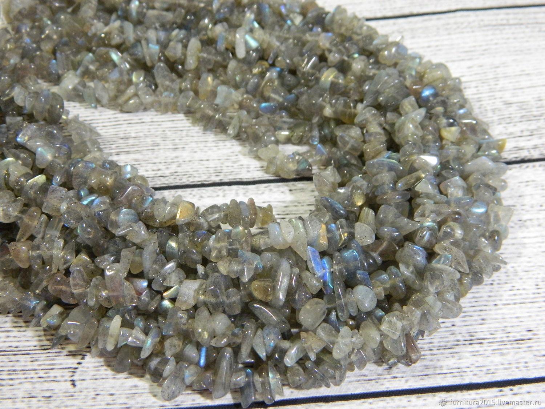 Лабрадорит природный камень. нить, Бусины, Саратов,  Фото №1