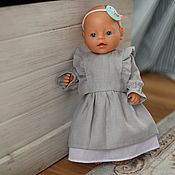 Куклы и игрушки handmade. Livemaster - original item Dress for doll, baby doll. Handmade.