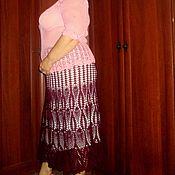 Одежда ручной работы. Ярмарка Мастеров - ручная работа юбка-бордо. Handmade.