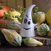 Для дома и интерьера handmade. Livemaster - original item Candle holder Ghost