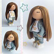 Куклы и игрушки handmade. Livemaster - original item Boss lady doll, Textile doll, Interior doll. Handmade.