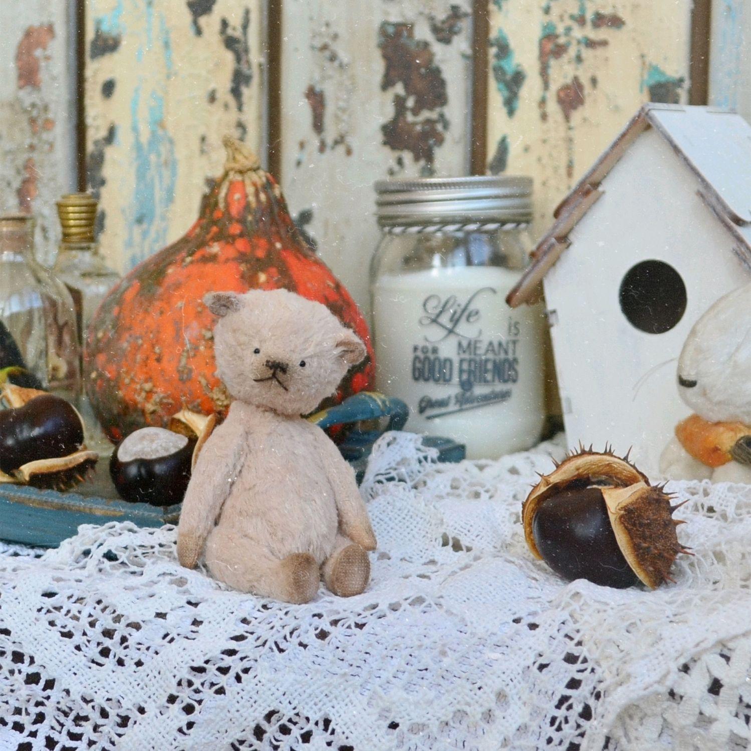Мишка Тедди Даня, Миниатюрные игрушки, Новороссийск, Фото №1