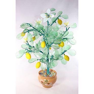 Цветы и флористика ручной работы. Ярмарка Мастеров - ручная работа Лимон. Handmade.