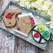 Косметика ручной работы handmade. Livemaster - original item Set of soap love birds. Handmade.