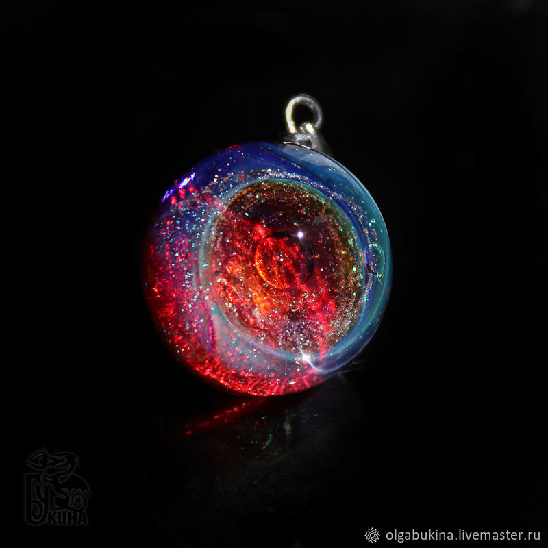 Pendant ball Invisible. Cosmos Galaxy Universe Planet Space, Pendants, Moscow,  Фото №1