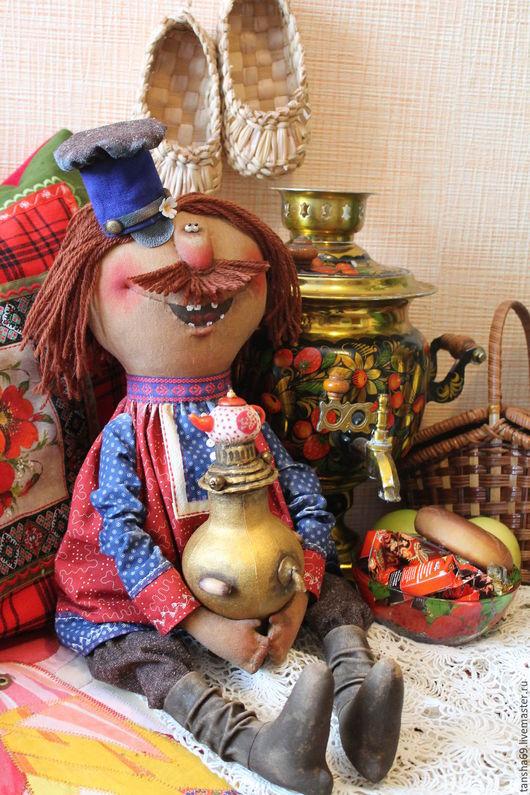 Коллекционные куклы ручной работы. Ярмарка Мастеров - ручная работа. Купить Женишок!. Handmade. Комбинированный, самовар