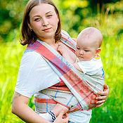 Одежда ручной работы. Ярмарка Мастеров - ручная работа Слинг шарф 4,2 метра ребозо. Handmade.