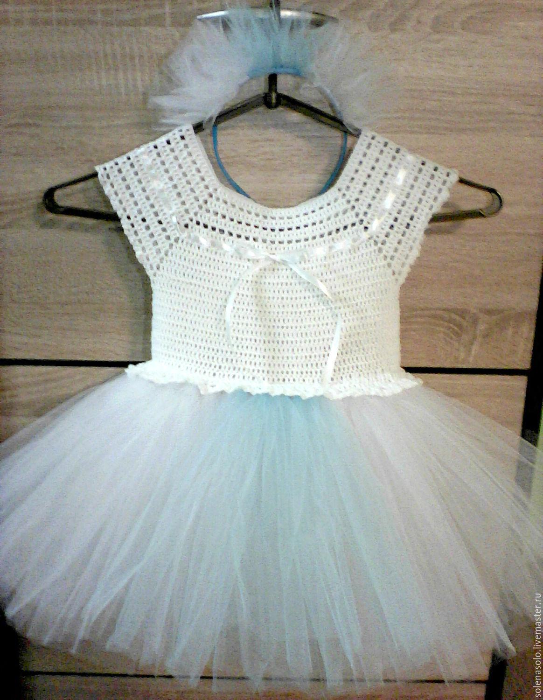 Снежинка в белом платье