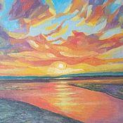 Картины и панно handmade. Livemaster - original item Sunsets are the inheritors of all our inspirations.. Handmade.