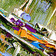 Oil painting with the sea 'of the Bay of Kotor, Montenegro'. Pictures. Multicolor Gallery. My Livemaster. Фото №4