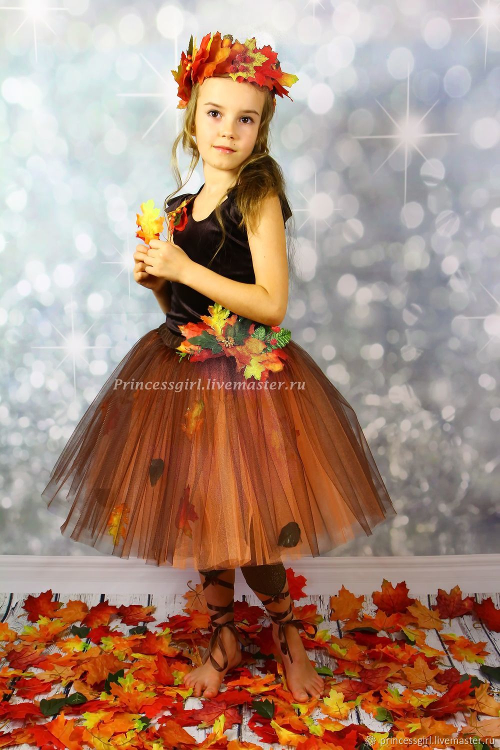 Suit autumn, Carnival costumes for children, Moscow,  Фото №1