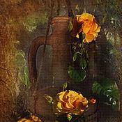 Дизайн и реклама ручной работы. Ярмарка Мастеров - ручная работа Розы. Handmade.