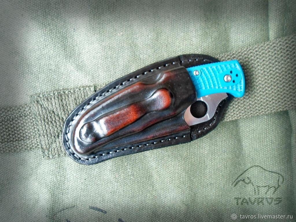 Чехол на Spyderco Endura 4, Оружие, Тольятти,  Фото №1