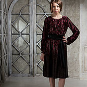 Платья ручной работы. Ярмарка Мастеров - ручная работа Платье шелковое Rosa de Tango. Handmade.