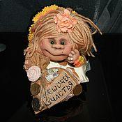 Куклы и игрушки ручной работы. Ярмарка Мастеров - ручная работа Домовиха-попик ручной работы. Handmade.