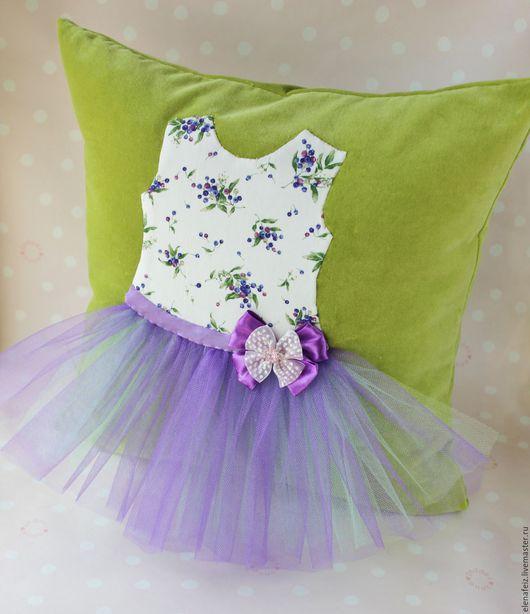 Текстиль, ковры ручной работы. Ярмарка Мастеров - ручная работа. Купить Платье для принцессы. Два дизайна. Декоративная подушка. Handmade.