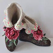 """Обувь ручной работы. Ярмарка Мастеров - ручная работа Валенки  """"Rosali"""". Handmade."""