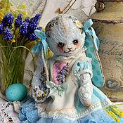 """Куклы и игрушки ручной работы. Ярмарка Мастеров - ручная работа Плюшевая зайка """"Алиса"""". Handmade."""