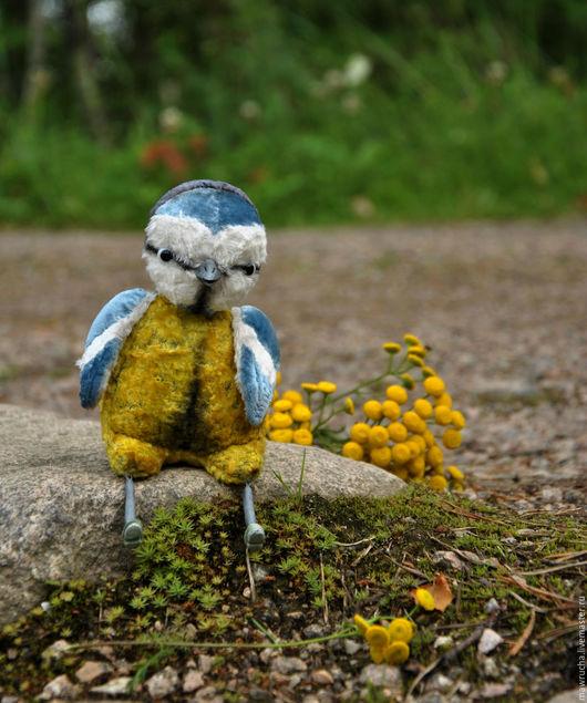Синичка по имени Капа.Коллекция `Лесные птички`.Друзья Тедди