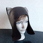 Аксессуары handmade. Livemaster - original item Ushanka-helmet