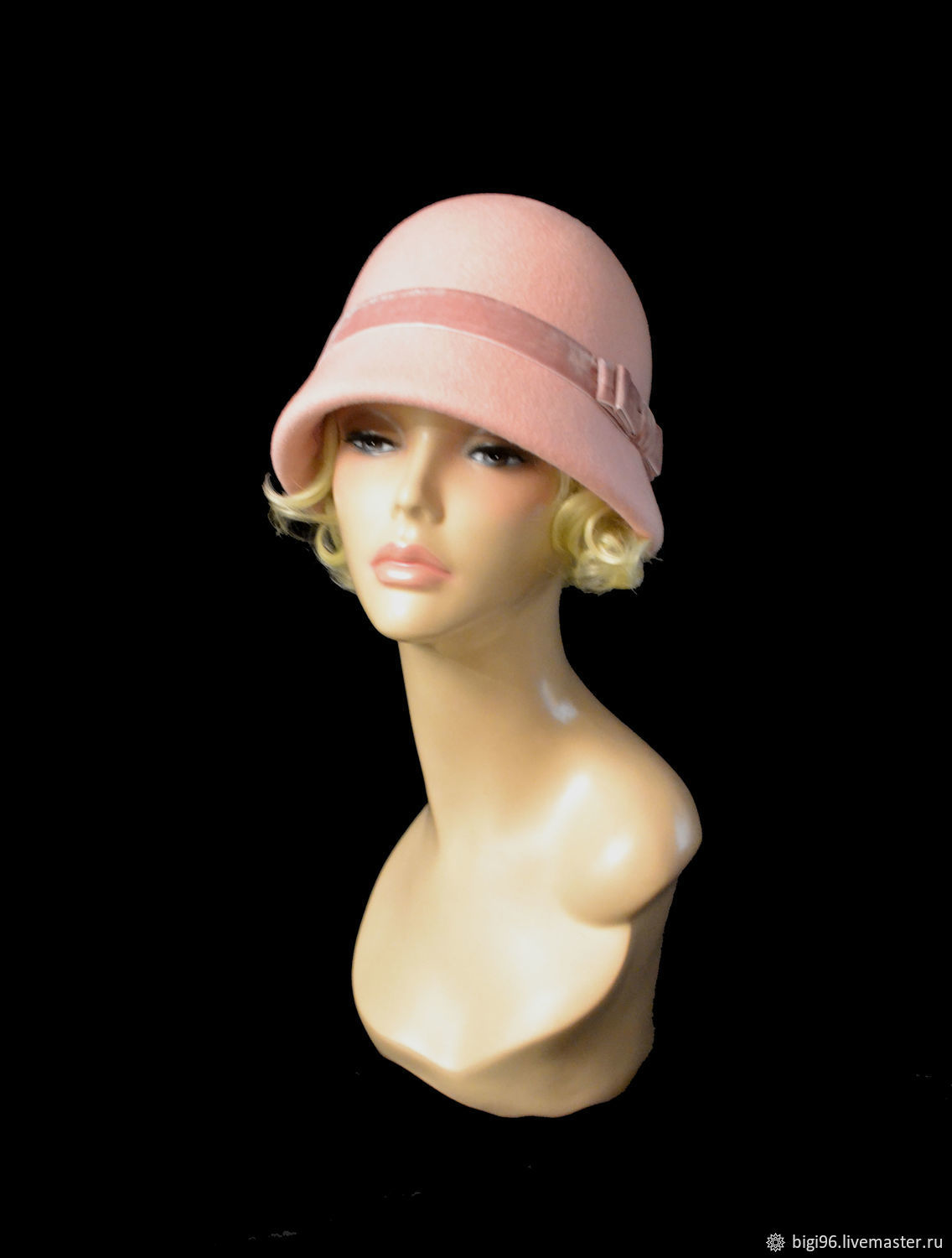 ba6d59c1c43fd Buy The Cloche  rosebud  · Fedoras   formal hats handmade. The Cloche   rosebud . Novozhilova Hats. Online ...
