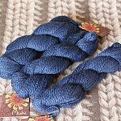 Материалы для творчества handmade. Livemaster - original item Mirasol Miski Dark Blue. Handmade.