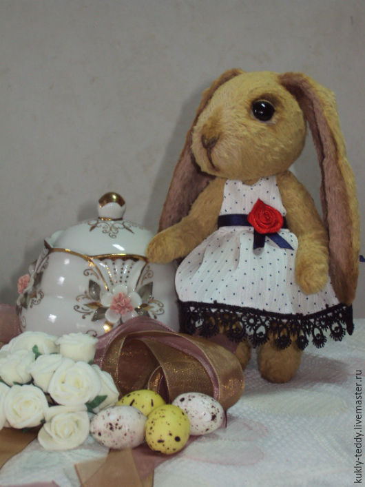 Мишки Тедди ручной работы. Ярмарка Мастеров - ручная работа. Купить заяц- тедди Мила. Handmade. Бежевый, милый подарок