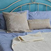 Для дома и интерьера handmade. Livemaster - original item Decorative cushions Blueberry. Handmade.
