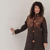 Одежда handmade. Livemaster - original item Coat (felt)