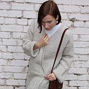 """Одежда ручной работы. Ярмарка Мастеров - ручная работа Кардиган - пальто """"Европа отдыхает"""". Handmade."""