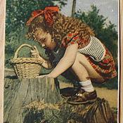 Винтаж handmade. Livemaster - original item Garland of postcards. Old and vintage postcards.. Handmade.