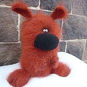 Куклы и игрушки handmade. Livemaster - original item Knitted dog Bagel Sneeze ). Handmade.