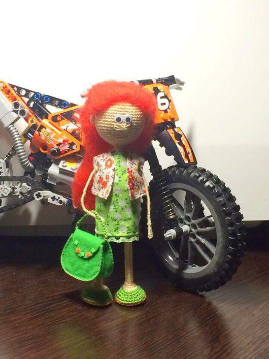 Человечки ручной работы. Ярмарка Мастеров - ручная работа. Купить Вязаная куколка. Handmade. Амигуруми, кукла ручной работы