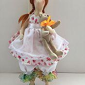 Куклы и игрушки ручной работы. Ярмарка Мастеров - ручная работа Машенька и медведь. Handmade.