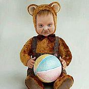Куклы и игрушки ручной работы. Ярмарка Мастеров - ручная работа Тедди-долл Бука. Handmade.