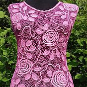 Платья ручной работы. Ярмарка Мастеров - ручная работа Платье Розы. Handmade.