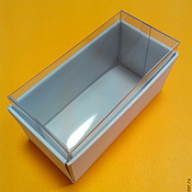 Сувениры и подарки handmade. Livemaster - original item Mini box with transparent cover. Handmade.