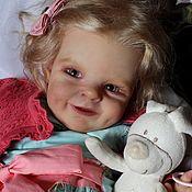 Куклы Reborn ручной работы. Ярмарка Мастеров - ручная работа Малышка Ниночка,молд Shaya. Handmade.