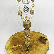 Украшения handmade. Livemaster - original item Unakita Banduri Celtic Necklace. Handmade.