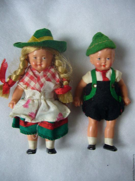 Винтажные куклы и игрушки. Ярмарка Мастеров - ручная работа. Купить Пара куколок (Германия) 9 см. Handmade. Куколки, германия