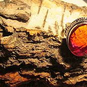 Украшения ручной работы. Ярмарка Мастеров - ручная работа кольцо 19  Гранат. Handmade.