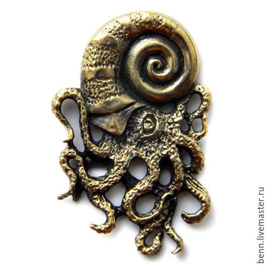 """Кулоны, подвески ручной работы. Ярмарка Мастеров - ручная работа. Купить Кулон """"Спрут"""". Handmade. Дракон, змей, осьминог"""