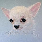 Картины и панно ручной работы. Ярмарка Мастеров - ручная работа Портрет собаки Чихуахуа. Handmade.